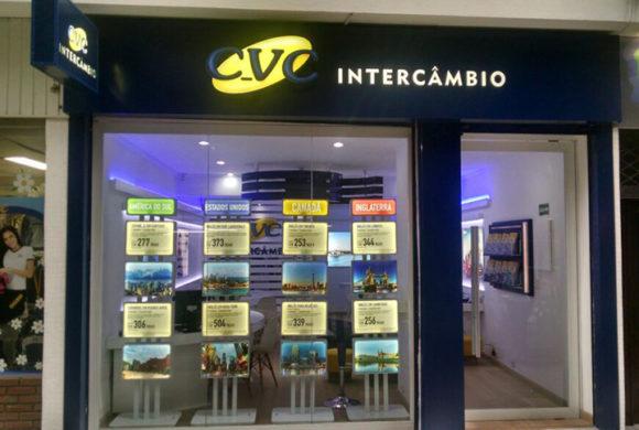 Store Design e Branding – CVC Intercâmbio