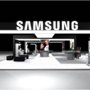 Projeto de Estande Feira – Samsung