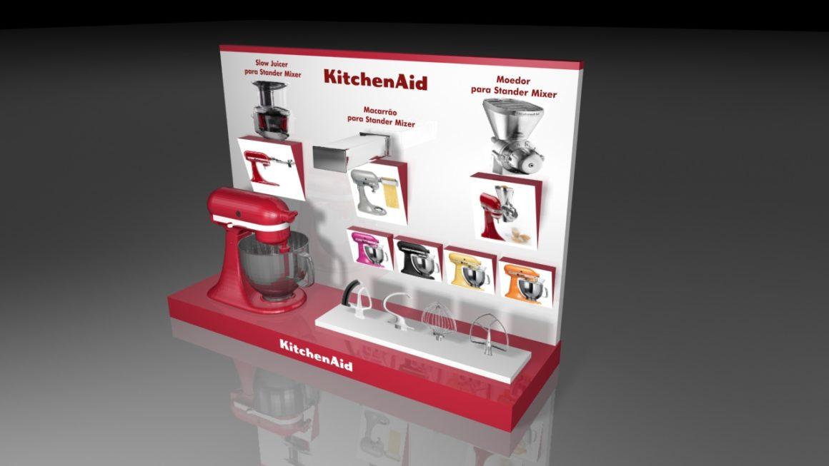 Displays e Expositores – KitchenAid #02