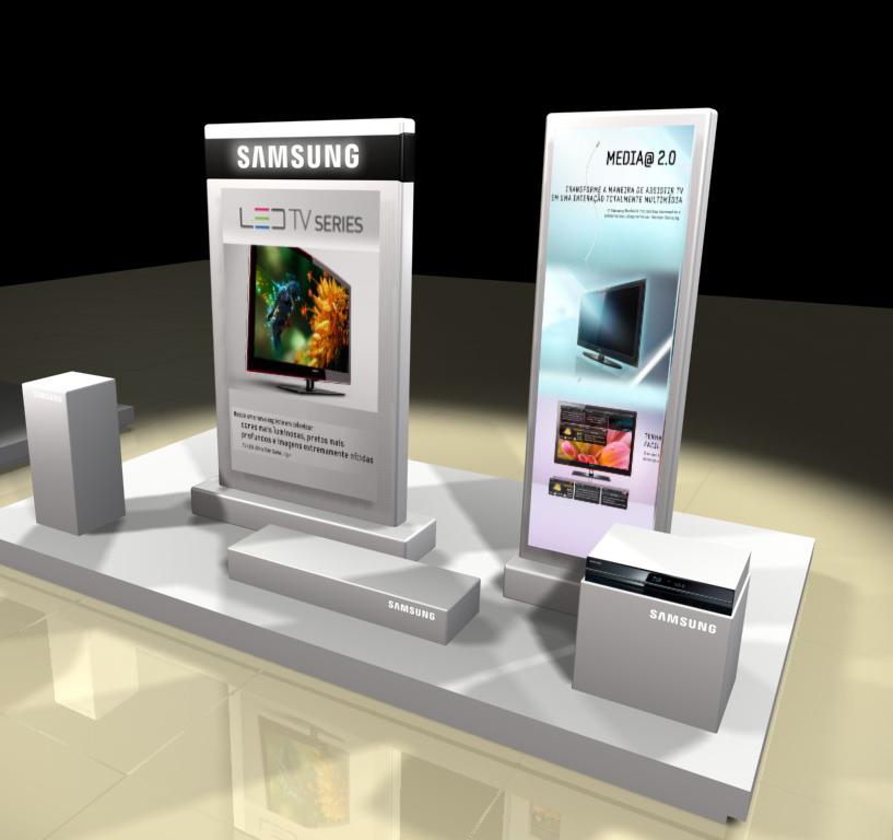 Suporte e Display – Samsung