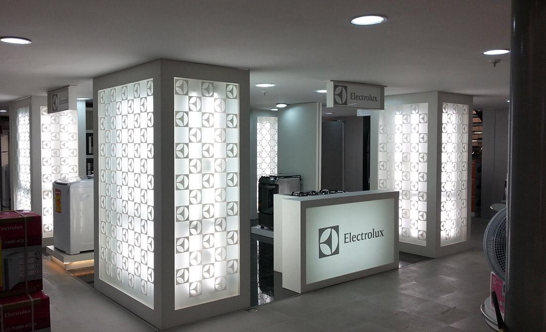 Corner Electrolux para Ricardo Eletro