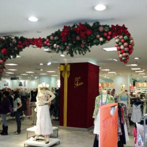 Ambientação de Natal – Lojas Renner