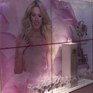 Vitrine – Lançamento Eau Florale by Shakira