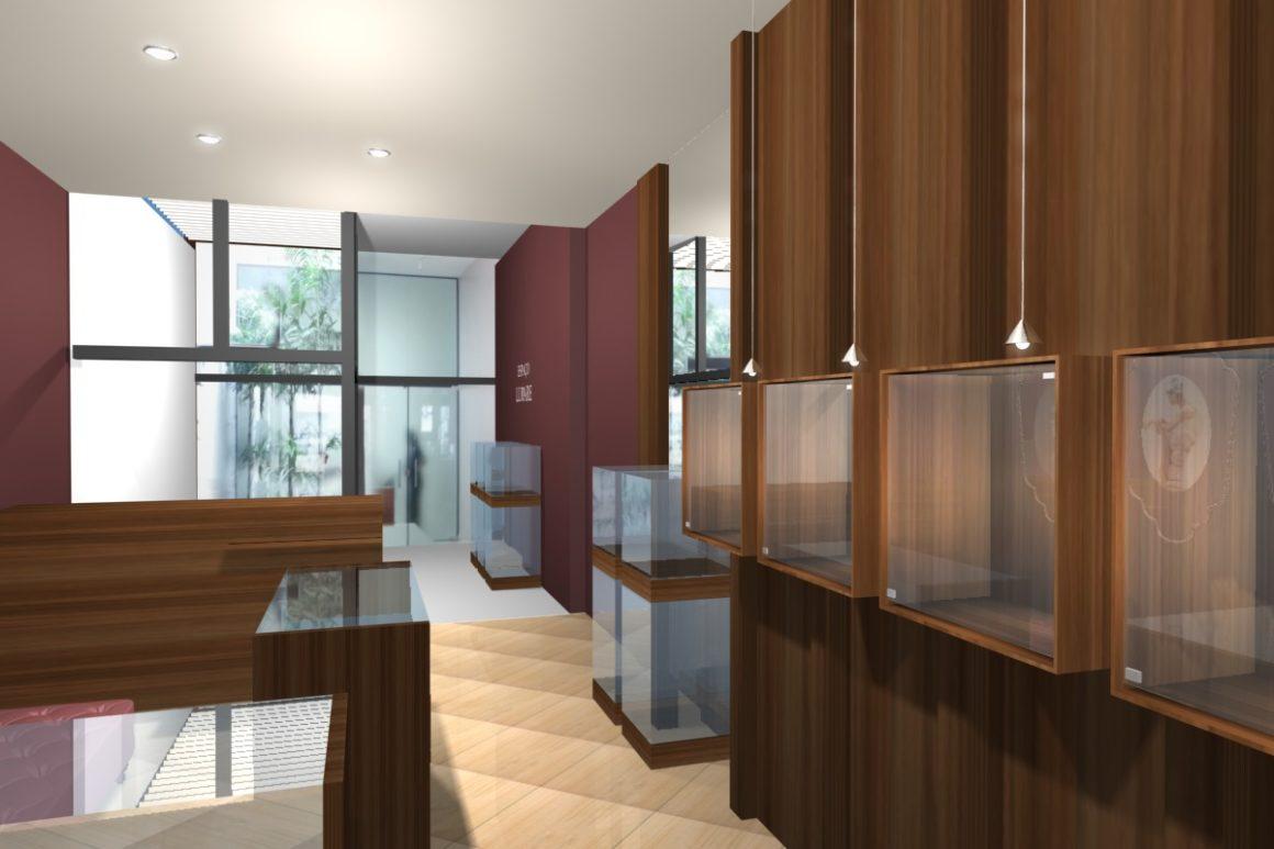 Store Design – Lunare Joias