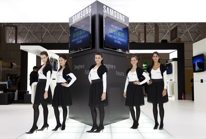 Projeto de Stand Feira – Samsung Image