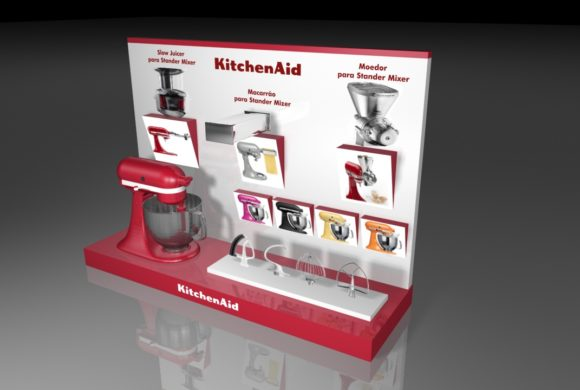 Displays e Expositores – KitchenAid #02