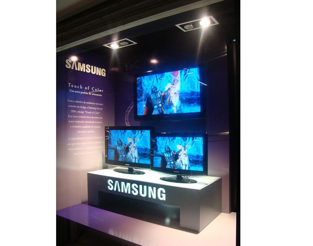 Trade Marketing – Samsung – Ponto Frio